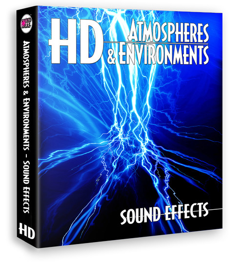 HD – Atmospheres And Environments Sound Effects Produkte Bild