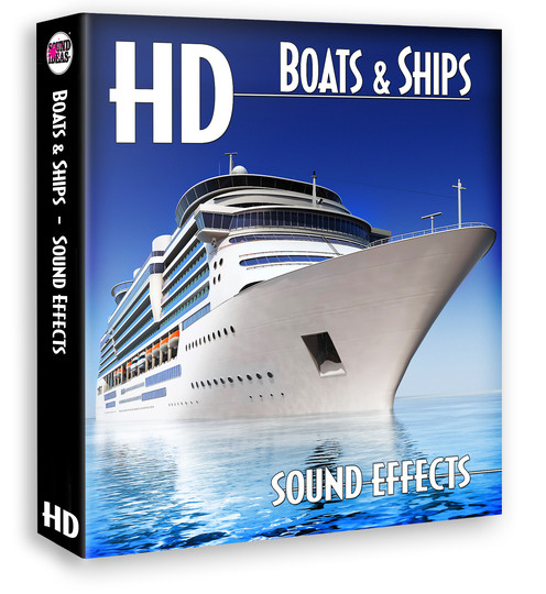 Sound Ideas HD Boats And Ships Sound Effects By Download - Cruise ship sound effects