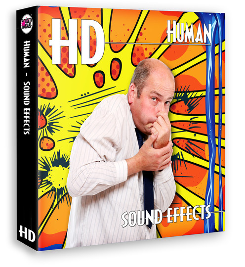 HD – Human Sound Effects Product Artwork