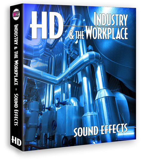 HD – Industry And the Workplace Sound Effects Produkte Bild