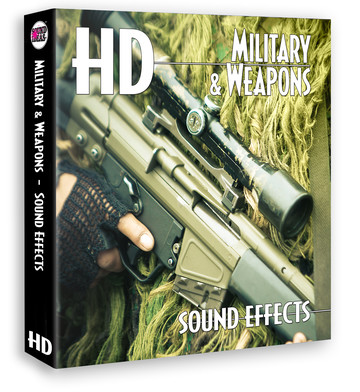 HD – Military And Weapons Sound Effects Product Artwork