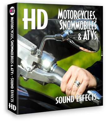 HD – Motorcycles Snowmobiles And ATVs Sound Effects, Download Version Produkte Bild