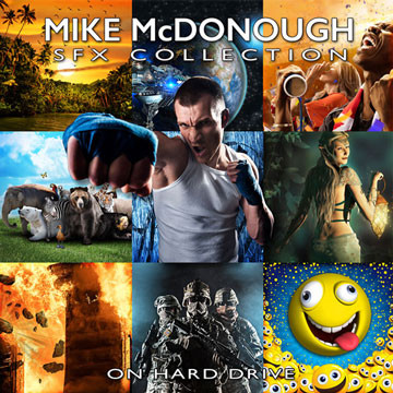 Mike McDonough SFX Collection Product Artwork