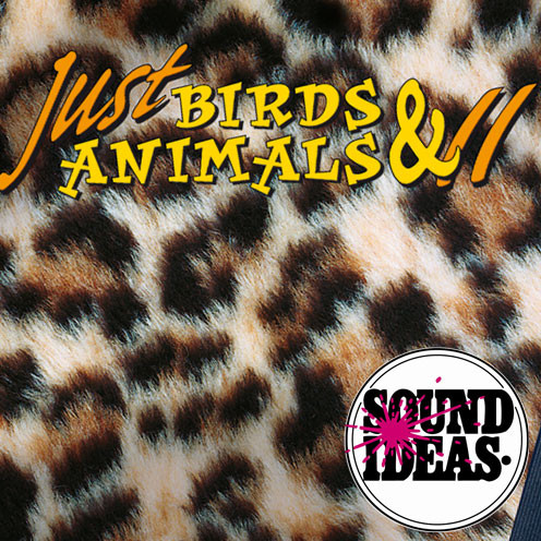 Sound Ideas - Just Birds and Animals 2 Sound Effects Library