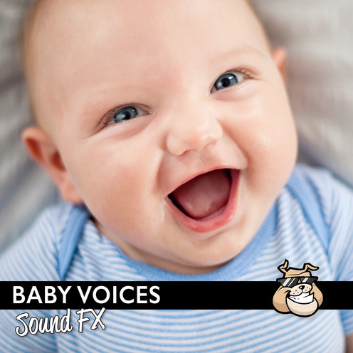 Sounddogs - Baby Voices Sound FX Product Artwork