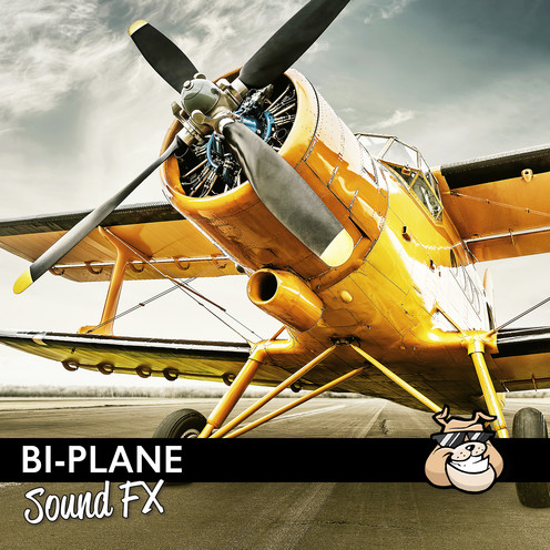 Sounddogs - Bi-Plane Sound Effects Product Artwork