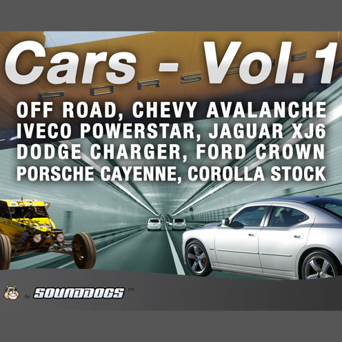 Sounddogs Cars Volume 1 Sound Effects