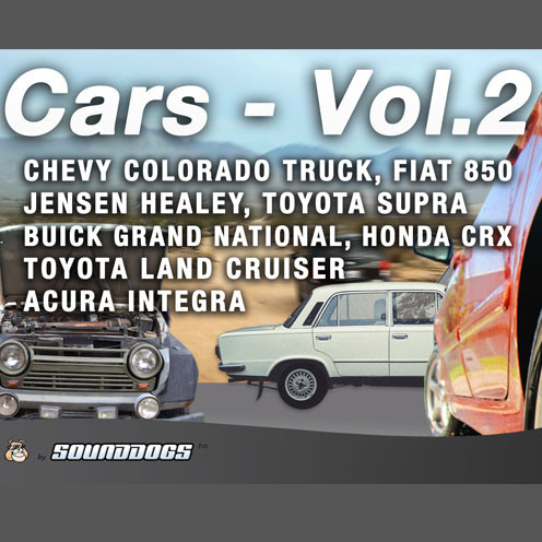 Sounddogs Cars Volume 2