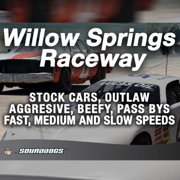 Sounddogs - Willow Springs Raceway Product Artwork