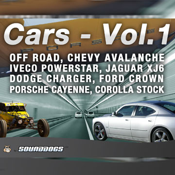 Sounddogs - Cars - Volume 1, by download Product Image