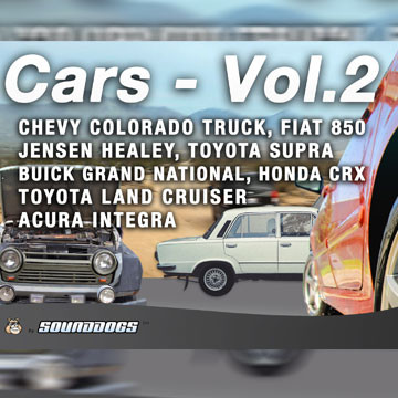 Sounddogs - Cars - Volume 2, by download Product Image
