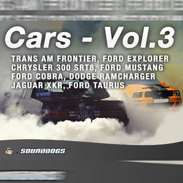 Sounddogs - Cars - Volume 3, by download Product Image