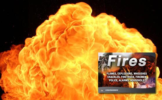 Sounddogs Feuer und Explosionen Sounds - Tonaufnahmen von Feuerbälle und Flammen