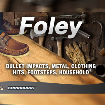 Sounddogs - Foley, by download Product Image