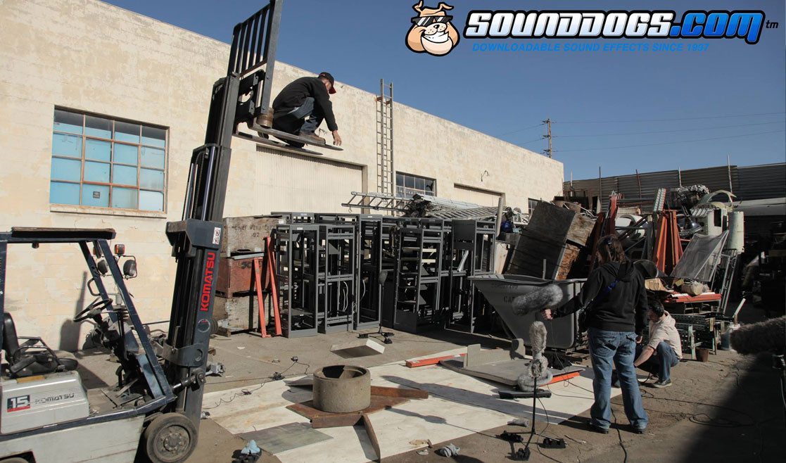 Sounddogs Sound Recording Dropping a stone slab onto a concrete surface