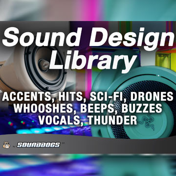 Sounddogs - Sound Design, by download Product Image