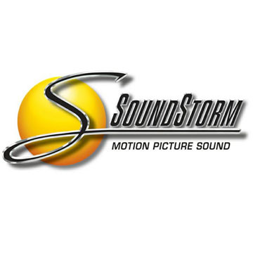 Soundstorm Sound Effects Label Logo