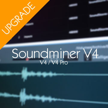 Soundminer V4 Pro to V4.5 Pro Upgrade Product Artwork