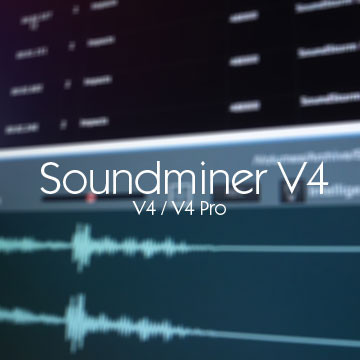 Soundminer HD Plus administration software for sound and