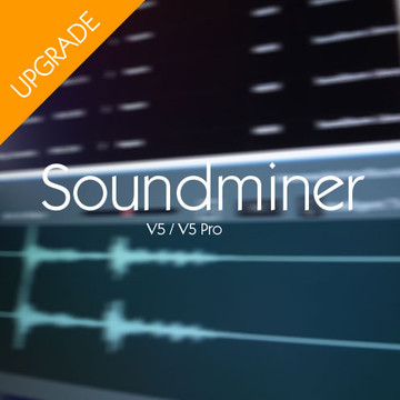 Upgrade Soundminer V4.5 Standard to V5 Standard Product Artwork