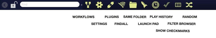 Soundminer HD Plus - New Toolbar
