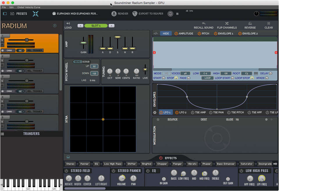 Soundminer PLUS with Pro Pack - Radium Sampler