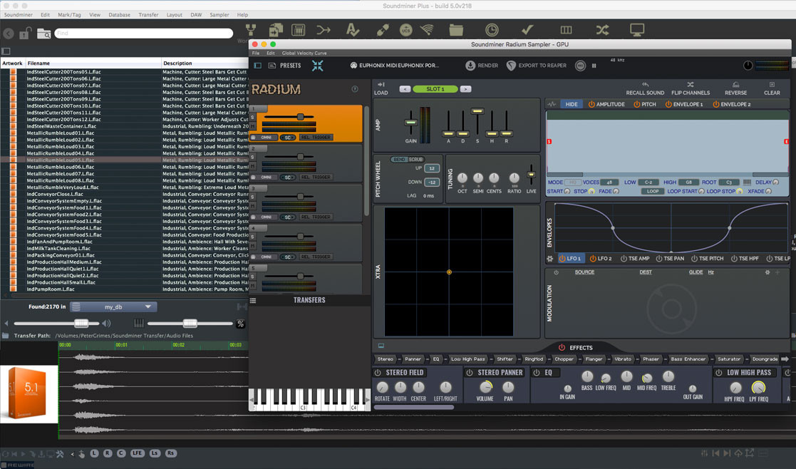 Soundminer PLUS with Pro Pack extension