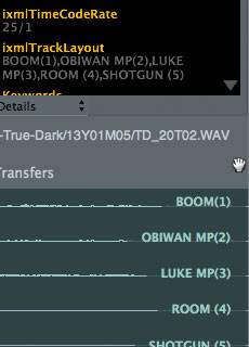 Soundminer iXML Tracking Labels