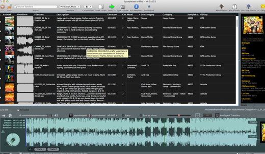 Soundminer V4.5 Pro Screen Shot