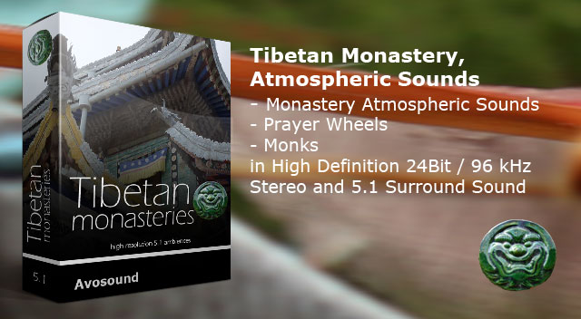 Tibetan Monastery Atmospheric sound